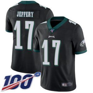Eagles Alshon Jeffery 100th Season Jersey 2
